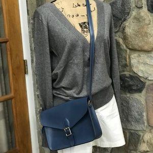 Angela Roi blue cross body bag